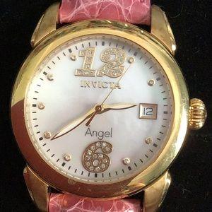 Invicta Angel Watch w/ crystals